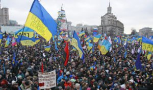 Maidan Square in central Kyiv on Dec 12, 2013 (Gleb Garanich, Reuters)