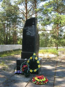 Monument in village of Varvarika, western Ukraine to unnamed victims of German Nazi invasion (photo by Jared McBride)