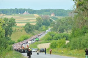Photo of July 2016 religious procession for peace in Ukraine (photo on Donbass ! blog)