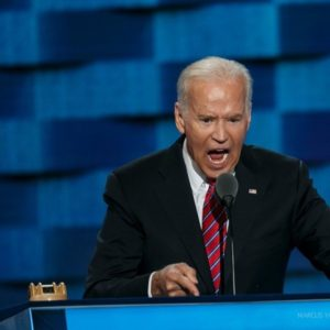 U.S. Vice President Joe Biden speaks to Democratic Party convention in Philadelphia in July 2016 (DNC photo)