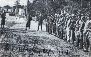 Ultranationalist Sich battalion in western Ukraine in autumn 1941 (Wikimedia)