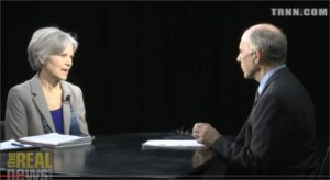 February 2015 interview with Jill Stein on The Real News Network