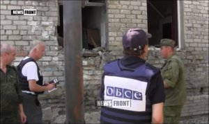OSCE observers document shelling of town of Stakhanov, Lugansk republic, in early August 2016