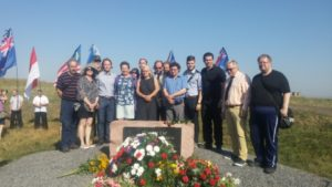 Tour group from Finland visit Donetsk in July 2016 (photo by Donetsk Int'l News Agency)