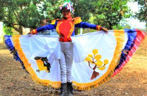The youth from the El Maizal Commune performed a poetry reading in honor of the Great Liberator, Simón Bolívar.