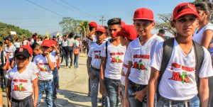 The sports teams and youth cultural groups of the El Maizal Commune demonstrated the communal commitment to strengthening the social life and education in the community.