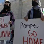 Sour grapes: Pompeo's vineyard visit met with Palestinian protests