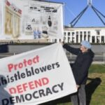 Australia has prosecuted a brave individual. People who speak up keep getting arrested