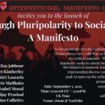 "Launch of ""Through Pluripolarity to Socialism – A Manifesto"""