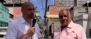 Dimitri Lascaris Visits Working Class Neighbourhood in Caracas for TRNN
