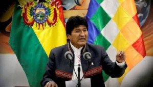 Coup leaders in Bolivia issue arrest warrant for Evo Morales