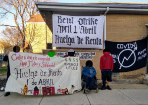Chicago, IL: Occupation of bank-owned building turned into mutual aid hub