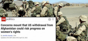 Media Concern Trolling About Afghanistan Withdrawal Again