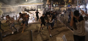 Israeli police are determined to escalate the violence in Jerusalem